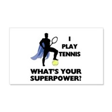 Tennis Superpower Wall Decal