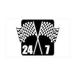 24/7 Racing 38.5 x 24.5 Wall Peel