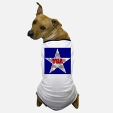 USA FLAG STAR Dog T-Shirt