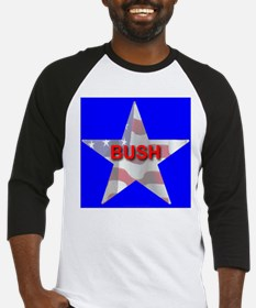 BUSH FLAG STAR Baseball Jersey