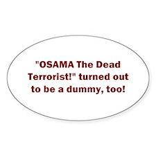 Osama Dummy! Decal