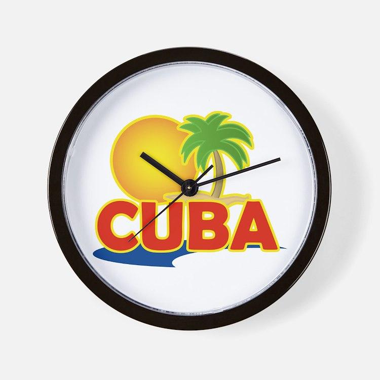 Havana Cuba clock
