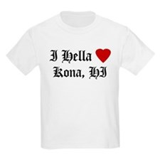 Hella Love Kona Kids T-Shirt