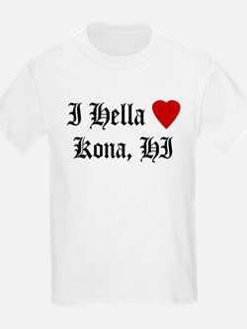 Hella Love Kona Kids T-Shirt