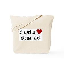 Hella Love Kona Tote Bag
