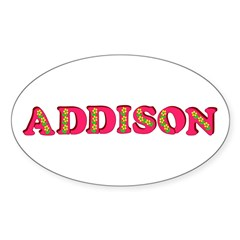 Addison Decal
