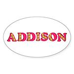 Addison Sticker (Oval 10 pk)