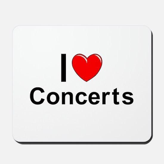 Concerts Mousepad