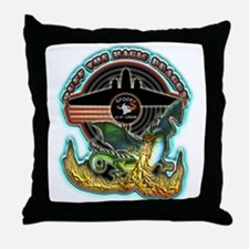 USAF AC-47 Spooky Throw Pillow