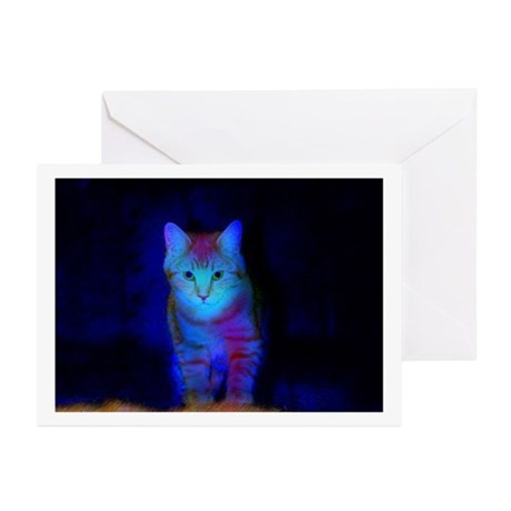 Feral Art Greeting Cards Blank (Pk of 10)