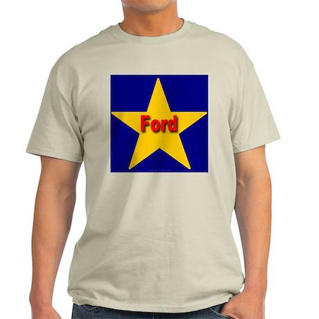 Ford Star Monogram Ash Grey T-Shirt
