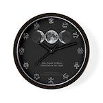 Triple Goddess Wall Clock