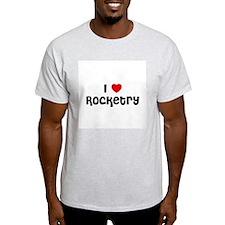 I * Rocketry Ash Grey T-Shirt