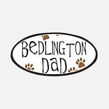 Bedlington Dad Patches