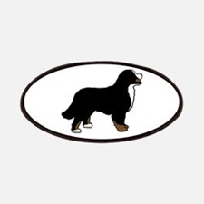 Tri Color Bernese Dog Patches