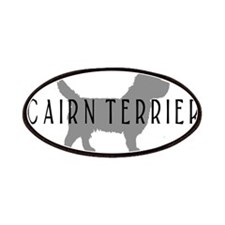 Cairn Terrier Oval #2 Patches
