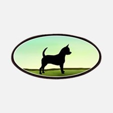 Grassy Field Chihuahua Patches