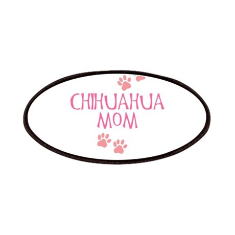 Pink Chihuahua Mom Patches