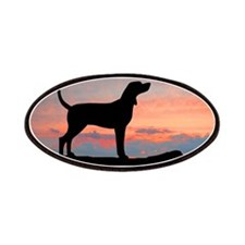 Sunset Coonhound Patches