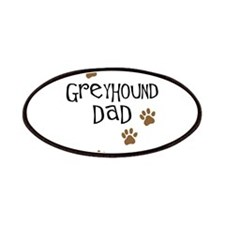 Greyhound Dad Patches