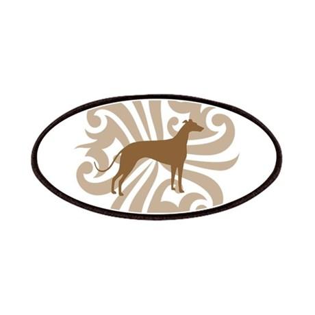 Tan & Brown Greyhound Patches