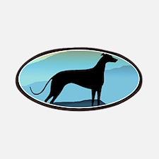 greyhound blue mt. Patches