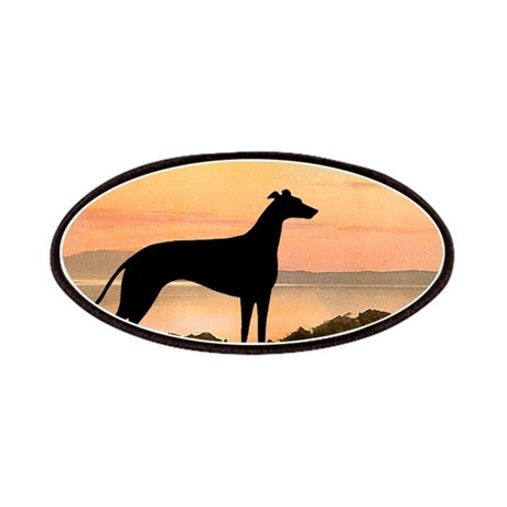 Greyhound Sunset Patches