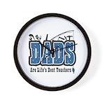 Dad Life's Best Teacher Wall Clock