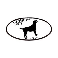 Labrador Mom w/ Silhouette Patches