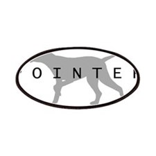 Pointer Dog Breed Patches