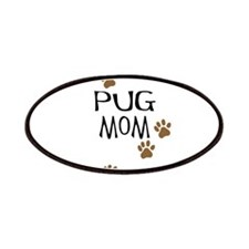 Pug Mom Patches