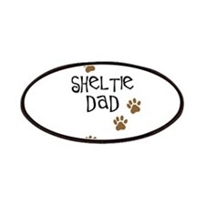 Sheltie Dad Patches