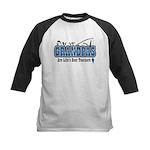 Grandpa Life's Best Teacher Kids Baseball Jersey