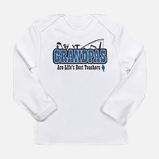 Grandpa Life's Best Teacher Long Sleeve Infant T-S