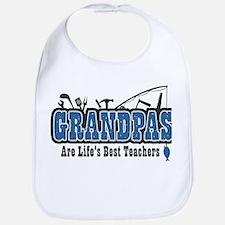 Grandpa Life's Best Teacher Bib