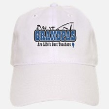 Grandpa Life's Best Teacher Baseball Baseball Cap