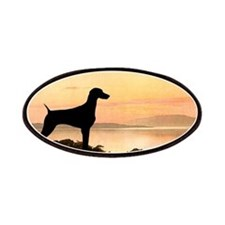 Weimaraner Sunset Patches