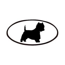 West Highland Terrier Patches