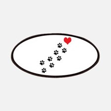 Paw Prints To My Heart Patches