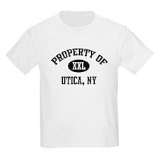 Property of Utica Kids T-Shirt