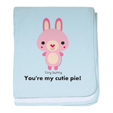 My Tiny World Tiny Rabbit baby blanket
