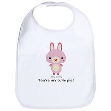 My Tiny World Tiny Rabbit Bib