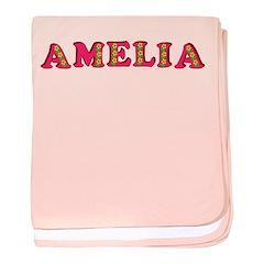 Amelia baby blanket