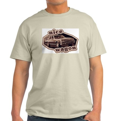 Nice Wagon Ash Grey T-Shirt