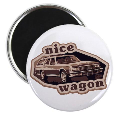 Nice Wagon Magnet