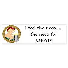 Meadwench Bumper Bumper Sticker