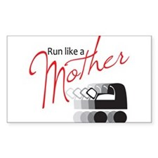 Run Like a Mother Decal