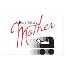 Run Like a Mother Postcards (Package of 8)
