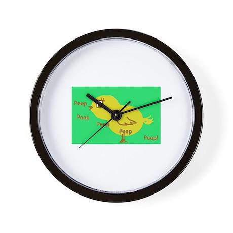 Peeps Wall Clock