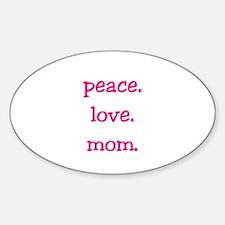 Mom Sticker (Oval)